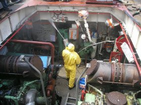 Nettoyage des industries